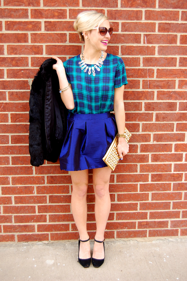 plaid-tulle-blue-green