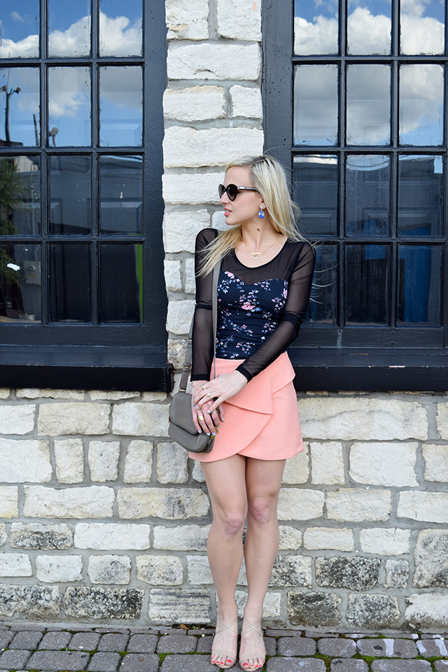 oragami-skirt-black-sheer-top