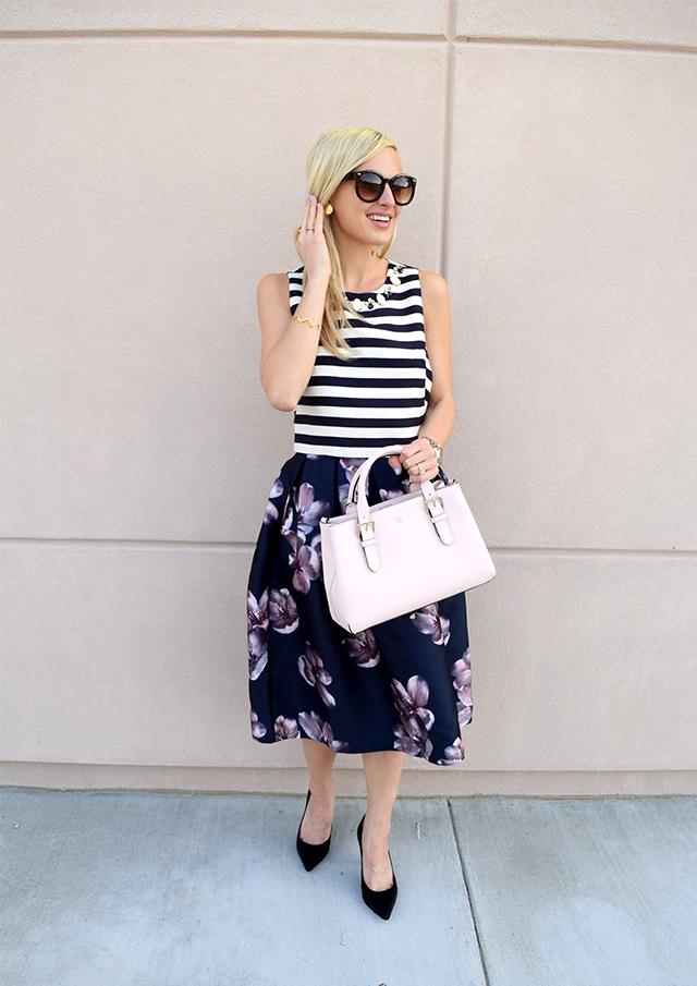 floral-navy-lulus-skirt