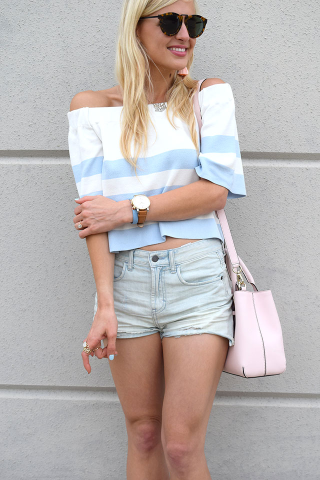 casual summer denim look