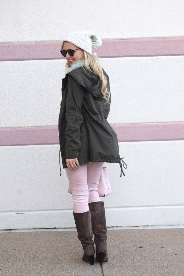 casual winter blogger outfit