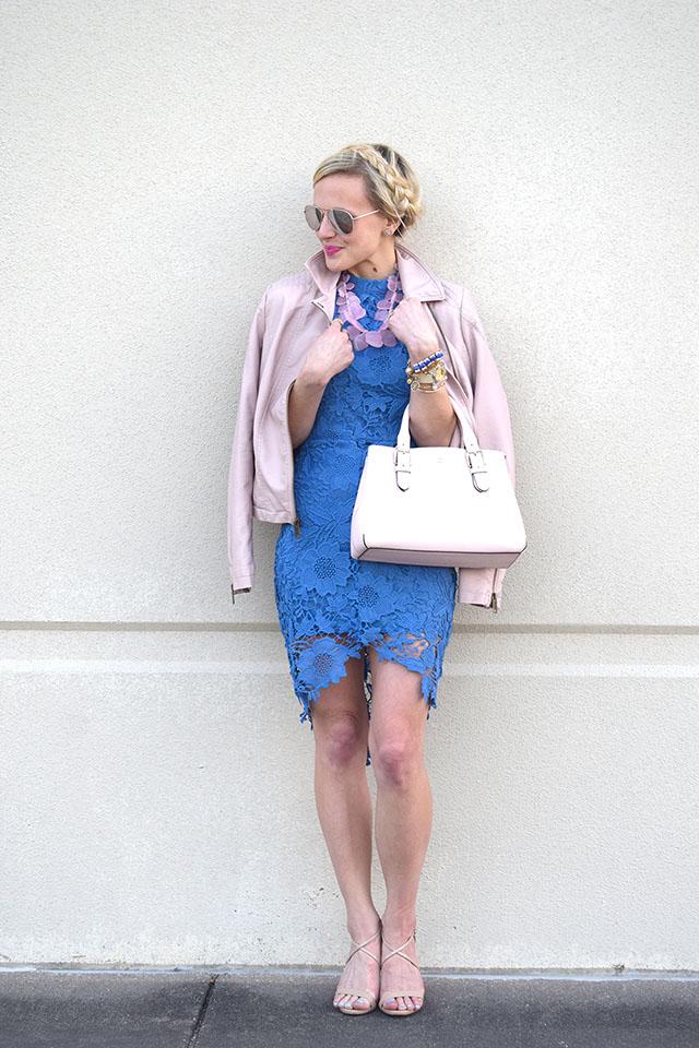 wilsons leather light pink jacket
