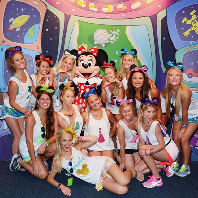 how to plan a disney bachelorette