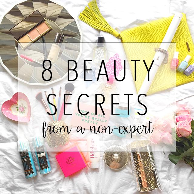 non expert beauty secrets