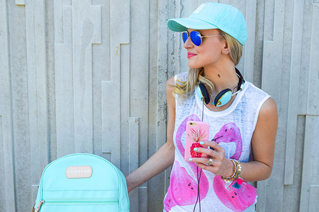 vandi-fair-blog-lauren-vandiver-dallas-texas-southern-fashion-blogger-sun-your-buns-ball-cap-billabong-skull-candy-turquoise-headphones-nunuco-pineapple-phone-case-2