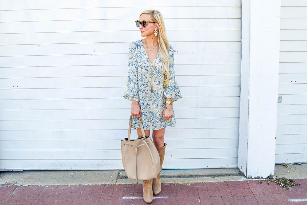 vandi-fair-dallas-fashion-blog-lauren-vandiver-southern-blogger-lush-whitney-bell-sleeve-woven-shift-dress-open-back-ugg-ava-tall-water-resistant-suede-boot-chestnut-5