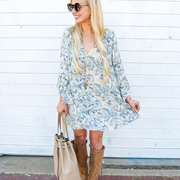 vandi-fair-dallas-fashion-blog-lauren-vandiver-southern-blogger-lush-whitney-bell-sleeve-woven-shift-dress-open-back-ugg-ava-tall-water-resistant-suede-boot-chestnut-9