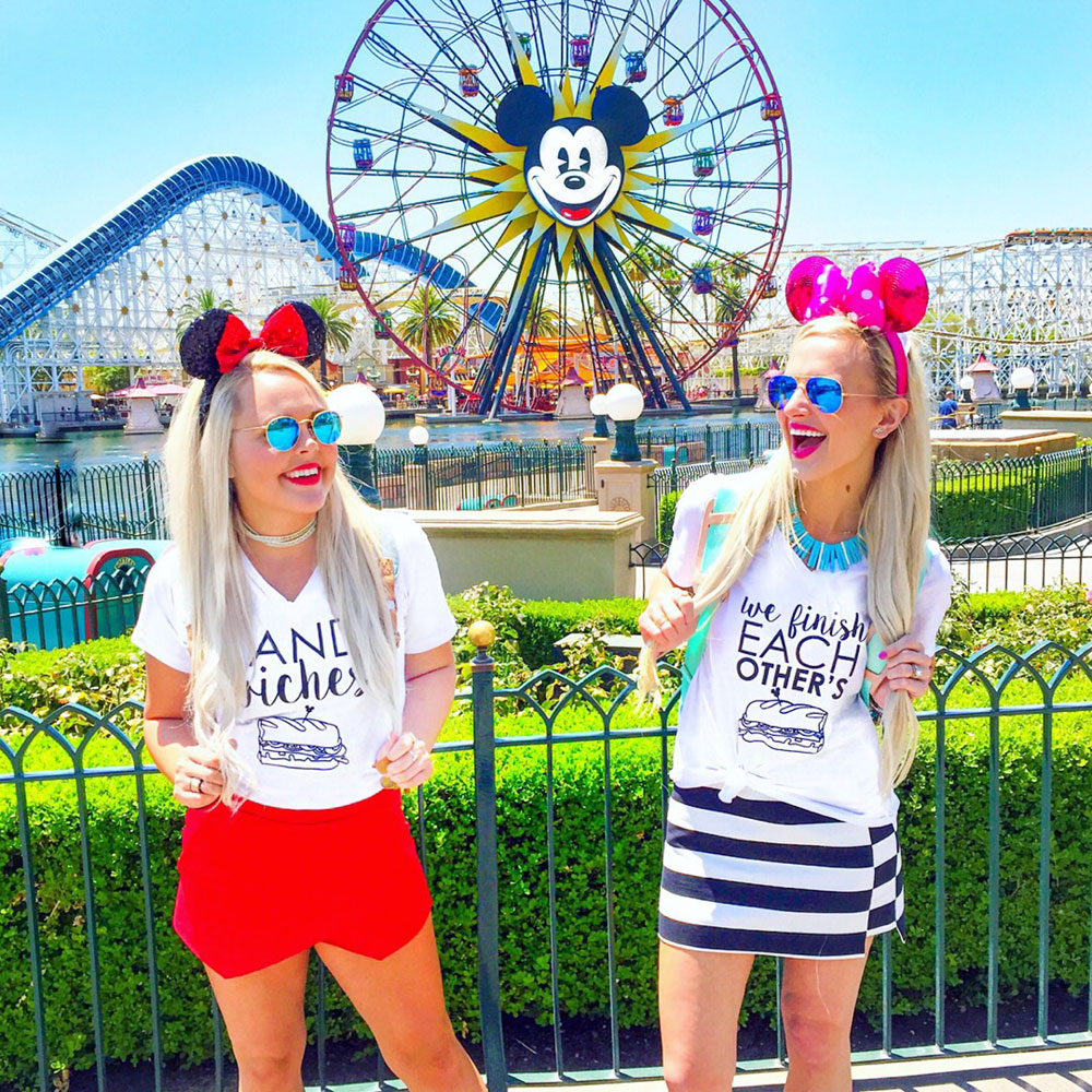 vandi-fair-blog-lauren-vandiver-dallas-texas-southern-fashion-travel-blogger-our-california-adventure-road-trip-disneyland-paradise-pier-frozen-sandwich-t-shirts-