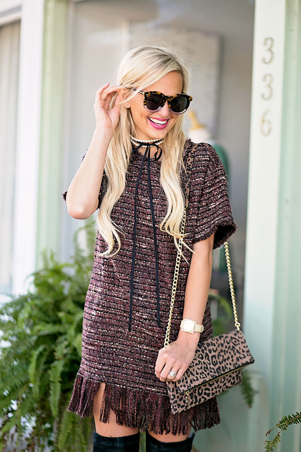 vandi-fair-blog-lauren-vandiver-dallas-texas-southern-fashion-blogger-astr-margo-fringe-shift-hem-dress-kelly-wynne-flirty-little-foldover-catwalk-leopard-crossbody-bag-1