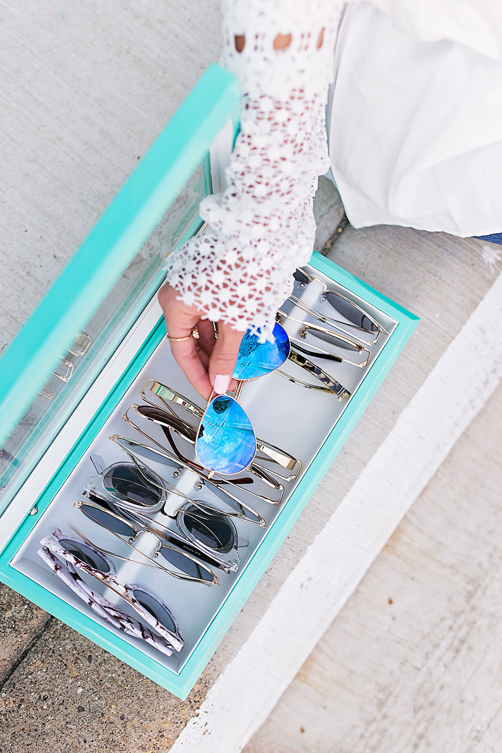 How to Organize Your Sunglasses With a Luxury Organizer