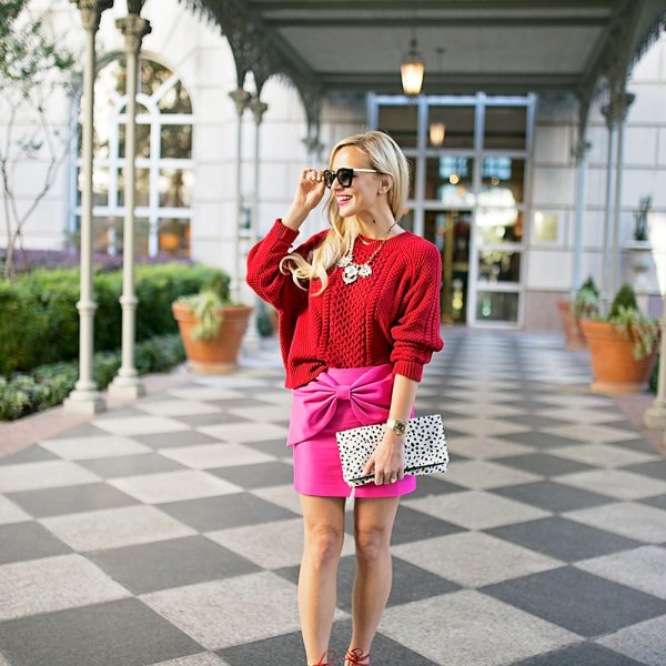 red-and-pink-fall-outfit-inspiration