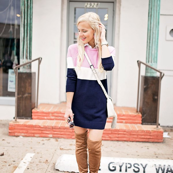 sweater-dress-boots-fall-outfit