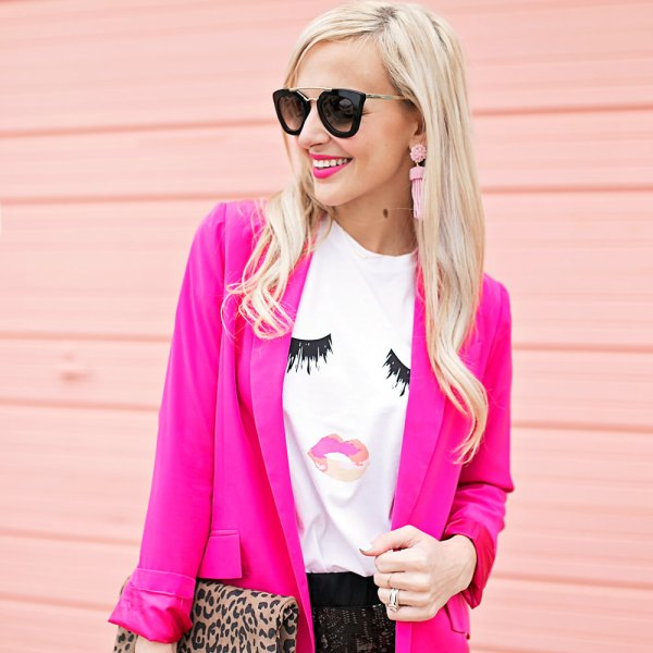 hot-pink-blazer-outfit