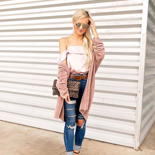 high-waist-ripped-skinny-jeans-spring-2017-outfit