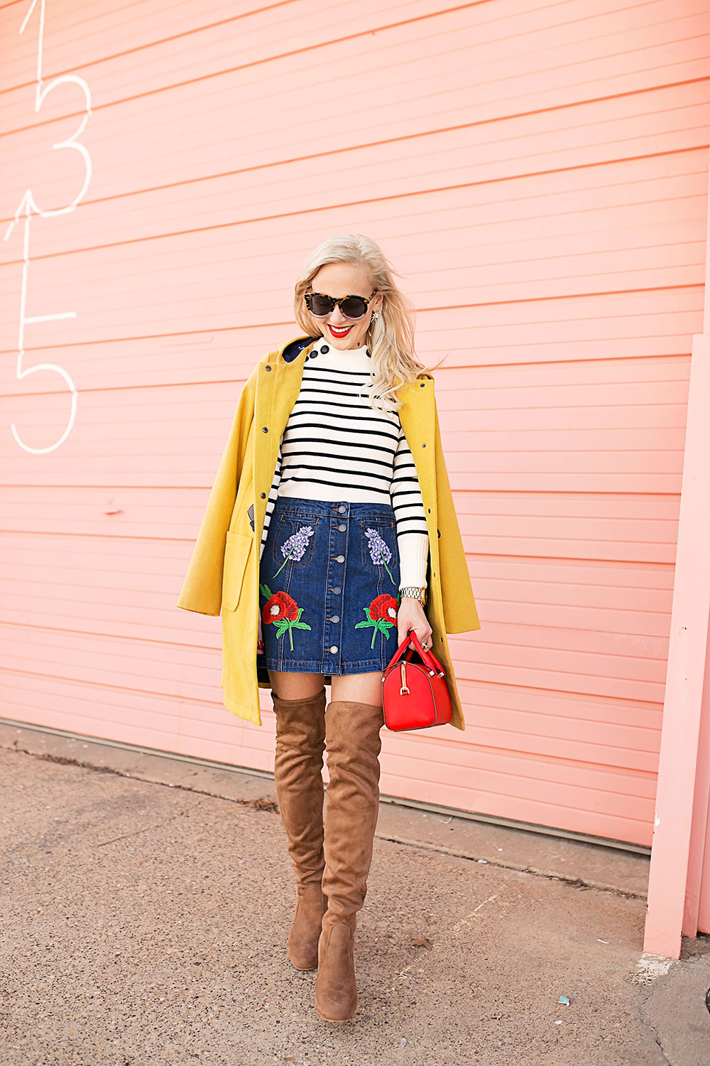 button-up-floral-embroidered-denim-mini-skirt