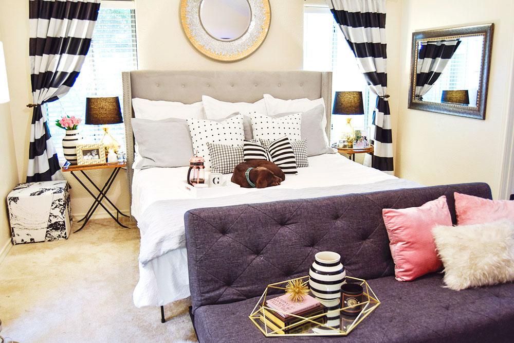 polka-dot-and-stripes-master-bedroom