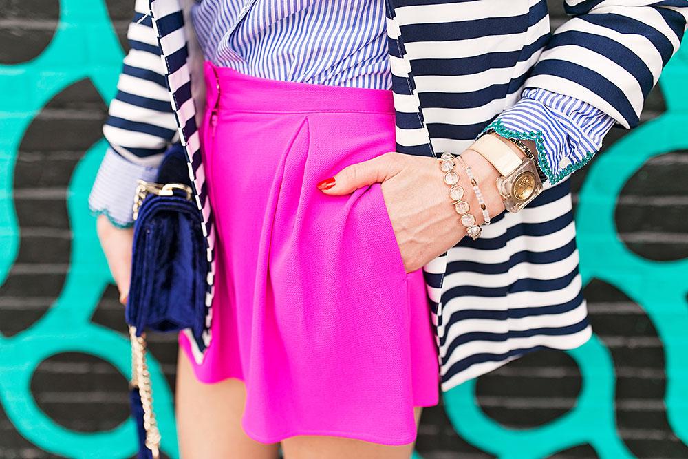 topshop-hot-pink-high-waist-shorts-with-pocket