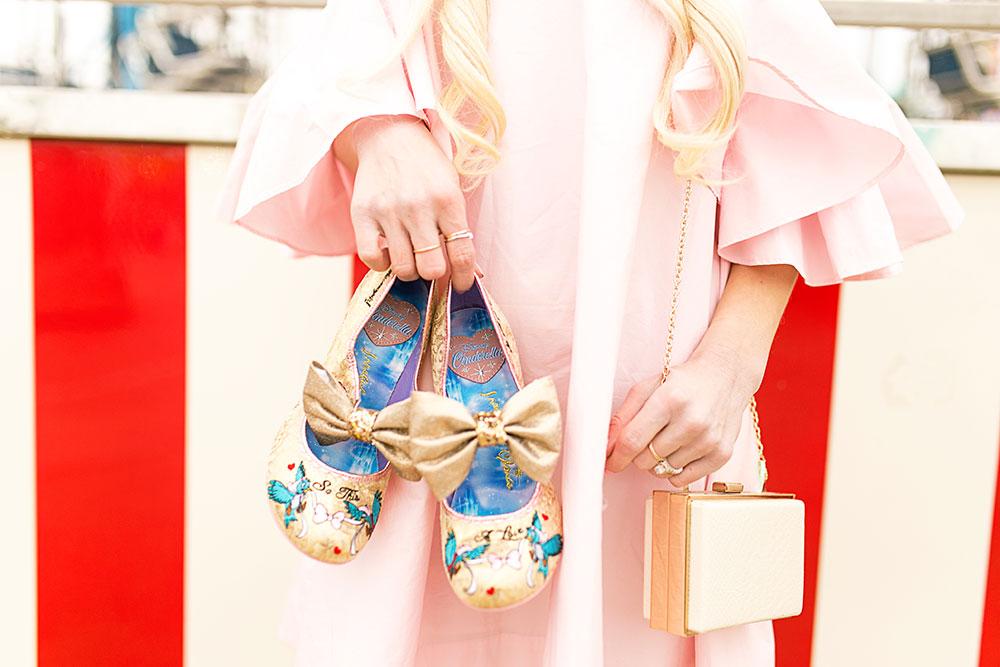 irregular choice disney cinderella shoes