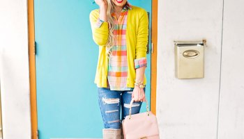 c31be07179e Fall For Color In This Vibrant Autumn Outfit