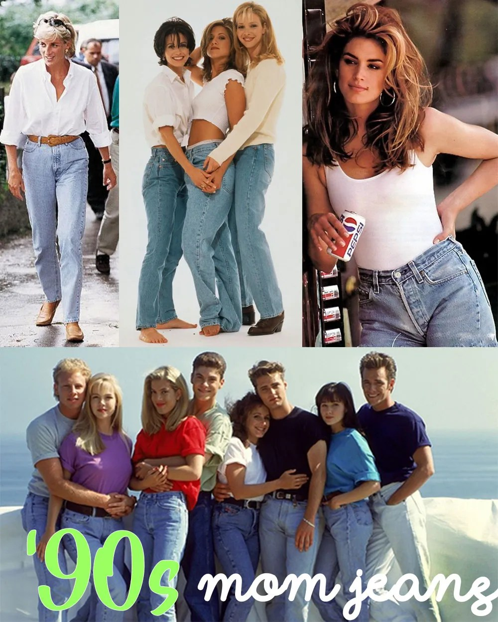 90s mom jeans
