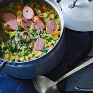 boerenkool met van dils curryworst