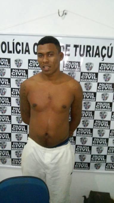 A polícia informou, que Jonas Moraes da Silva é integrante da facção bonde dos 40.