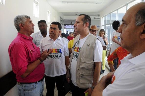 Prefeito Zé Martins  ao lado do Jornalista Robert Lobato ,