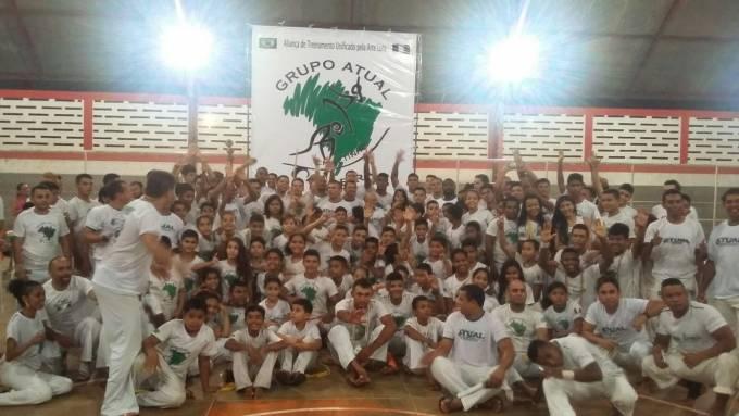 Os atletas da cidade de Pinheiro, fizeram bonito no festival.