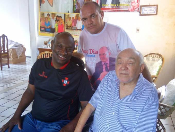 ampos com o ex-deputado isaac Dias e o vereador de São Bento Isaney Dias