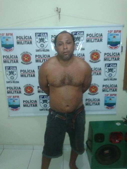 O foragido Wallace Jani Pereira se encontrava na residência da sogra