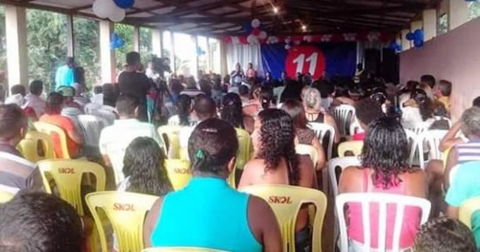 Encontro reuniu lideranças e populares do município