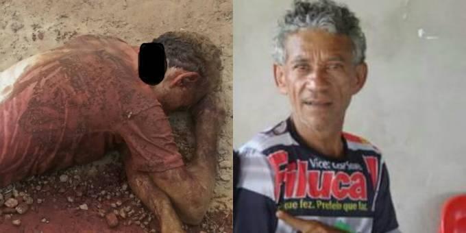 Ubaldo foi morto a golpes de facão por dois suspeitos já identificados