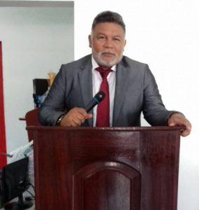Vereador Jean Reis, chefe da equipe de transição do prefeito eleito, Dr. Geraldo Amorim.