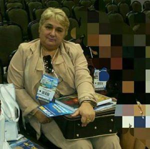 Prefeita eleita da cidade de Guimarães, Margarete Ribeiro (PV).