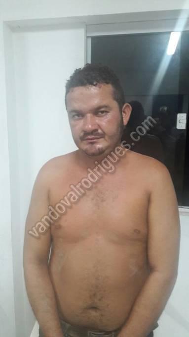 Alan Jorge Pereira foi preso e está à disposição da justiça.