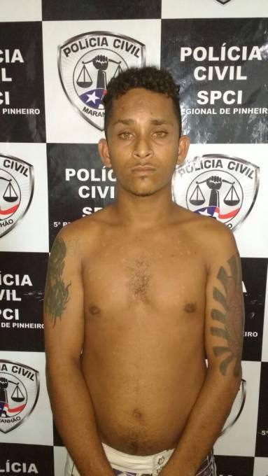 Ronaldo dos Santos Oliveira de 22 anos residente no povoado Talcar, foi conduzido para Delegacia de Policia sem lesões.