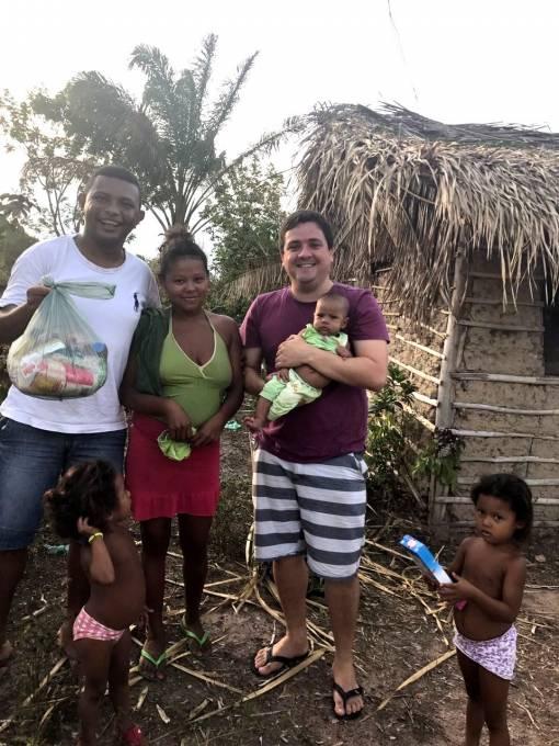 Famílias dos povoados de Vila Miné, Piçarreira, Botiquim, Mucuratiua, Pachiba e Canarinho foram agraciados.