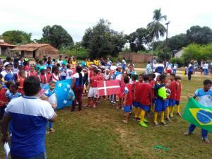 """Prefeitura de Pedro do Rosário inicia Projeto Escolar """"Copa do Mundo"""""""