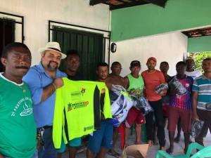 Elizeu de Tantan realiza ações juntos aos desportistas e agricultores de Santana dos Pretos