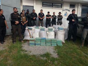 Polícia Civil apreende 35 toneladas de maconha e desarticula rota do tráfico