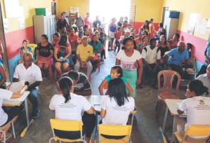 Comarca de Cururupu leva serviços de cidadania a moradores da Ilha de Guajerutiua