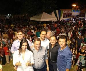 Prefeito de Tuntum anuncia apoio a Weverton em lançamento da pré-candidatura da Daniella Tema