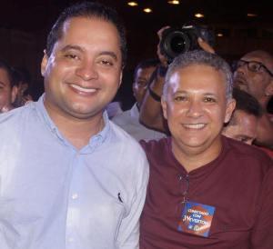 Prefeito Zezildo participa do lançamento de pré-candidatura de Weverton ao Senado