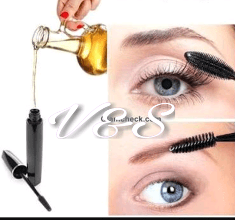 APPLICATION WITH A MASCARA BRUSH