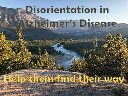 Disorientation in seniors with Alzheimer's