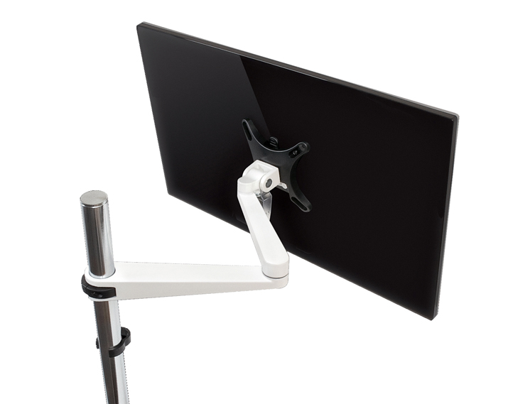 evo ergonomic pole monitor arm