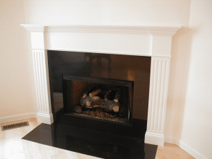 East Islip Fireplace Mantle