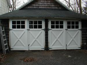 damaged garage doors