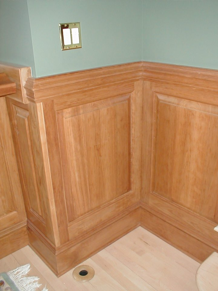 wainscotting detail