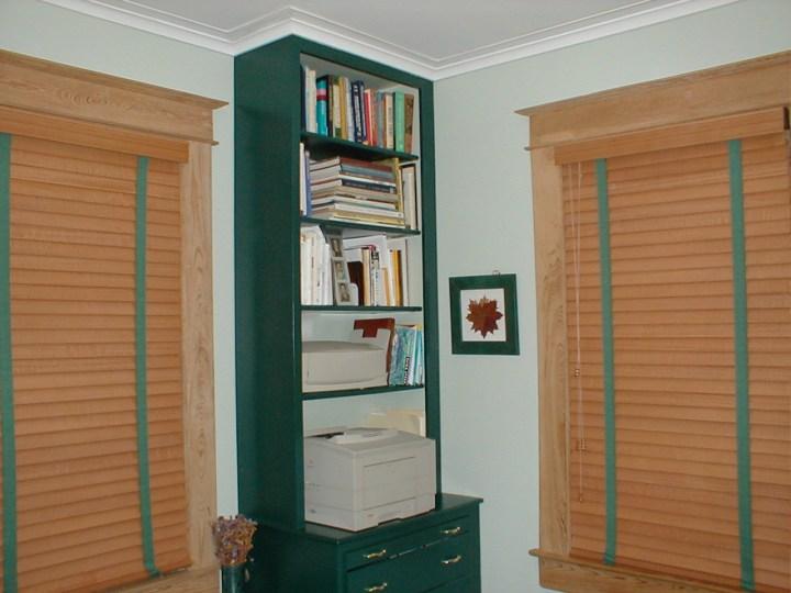 custom office builtin bookcase